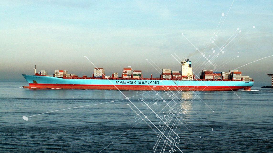 Maersk блокчейн